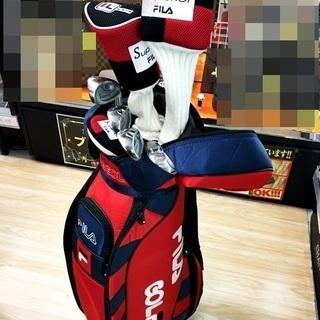 初心者必見 レディースゴルフセット FILA 入門者 7本セット ...