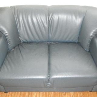 2人がけ ちょっと小さめラブソファー 横幅120cm