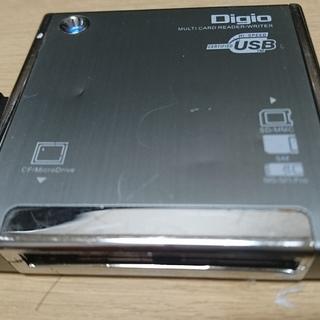 Digio CRW-7M23GSL  USB Ver2.0 マルチ...