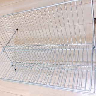 【IKEAイケア】KVOTクヴォート水切りキッチン食器用水切りかご...