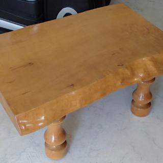 ♪無垢一枚板 耳付き テーブル イタヤカエデ♪