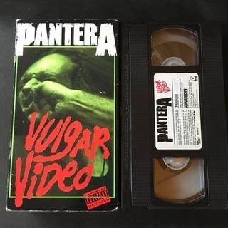 激レアVHS パンテラ『Volgar Video 』海外版