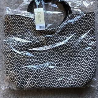 GEKLORE(ジオクロア)のラウンドハンドル織布風バッグ