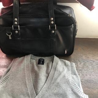 入学準備に!EASTBOY バッグとベストのセット