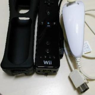 Wiiリモコンブラック&ヌンチャク