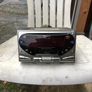 ソニー カセット対応CDカーコンポ