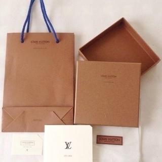 【ルィヴィトン 】空き箱&紙袋