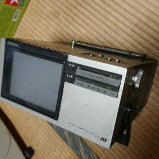 アナログ小型テレビ