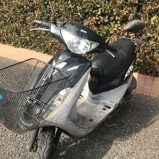 再値下げ【快速車】原付 sym DD50cc  黒色 2st