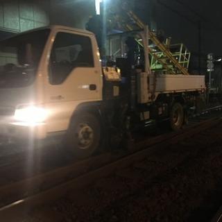 月収40万以上可!鉄道工事の作業員募集!