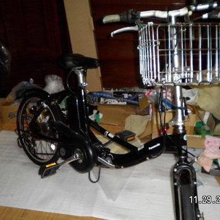 パナソニック電動アシスト折りたたみ自転車極美かっこいいですよ
