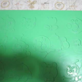 ☆アンパンマン 粘土板