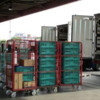4tゲート冷蔵食品配送トラックドライバー