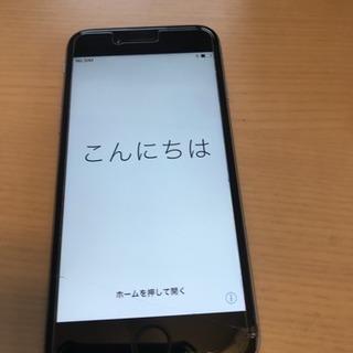 ジャンク au iPhone6 16G スペースグレイ A1586