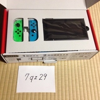 新品 ニンテンドー switch本体 / 任天堂ストア限定色(緑/青)
