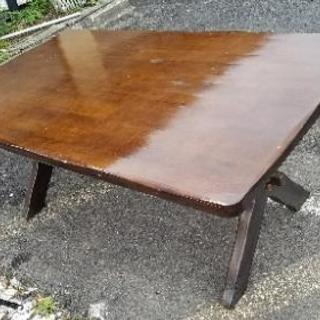 要修理/中古 カリモク家具 ダイニングテーブル RUSTIC