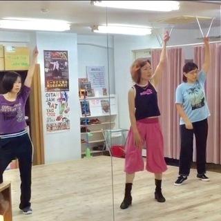 大人のための初めてのヒップホップジャズダンス 毎週水曜日18:30...