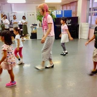 キッズタップダンス 毎週木曜日17:15〜18:15