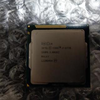 Intel Core i7-3770 中古品 正常動作