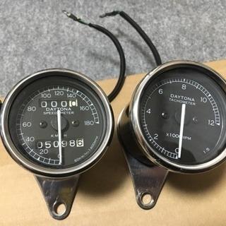 デイトナ 機械式 スピードメーター タコメーター