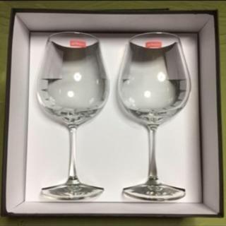 記念日に❣️【未使用】ペアワイングラス
