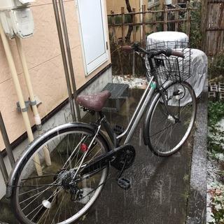 シティサイクル 27インチ 6段変速 自転車