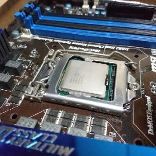 1155 マザーボード CPUセット Ivy対応 完動品