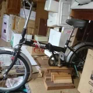 ジャンク  折り畳み自転車