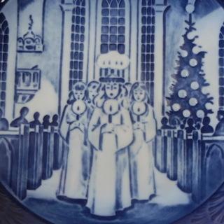 ロイヤルコペンハーゲン クリスマスプレート イヤープレート サンタ・ルチア祭 1991年 - 生活雑貨