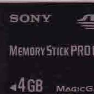 SONY MEMORY Stick PRO Duo 4G