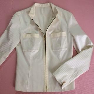 美品 Pinky&Dianne ホワイトジャケット