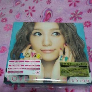 西野カナ LOVE it ★初回生産限定盤★ CD+DVD★ 特...