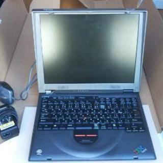 IBM うぃんどーずme ノートパソコン ジャンク。
