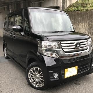 ★コミ86万円★H25 NBOX カスタムGターボPKG★車検3...