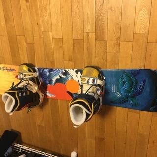中古スノーボード一式