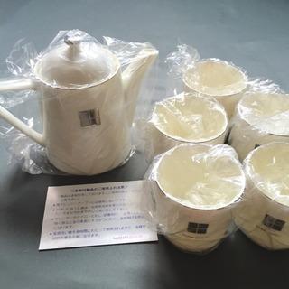 陶器ティーポット&カップ