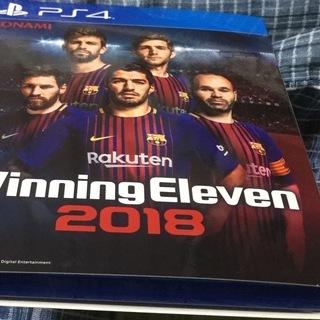 PS4 ウイニングイレブン2018