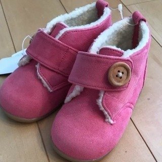【定価6800円】早い者勝!新品ファミリア 靴 ボア スニーカー...
