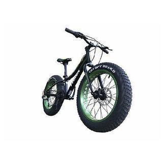 ファットバイク グリーン×ブラック
