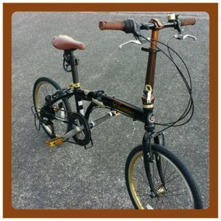 ■キャデラック【7段変速】  折りたたみ自転車