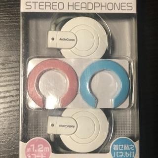 【お取引中】耳かけ式ステレオヘッドホン 未使用