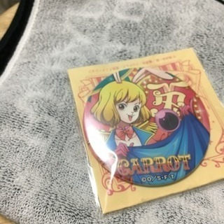 ONE PIECE 輩缶バッジ circus キャロット