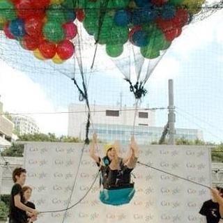 風船で空を飛ぶ!リアルサンタクロース登場‼︎! − 東京都