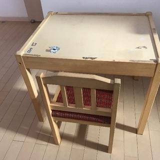 幼児用 机&椅子