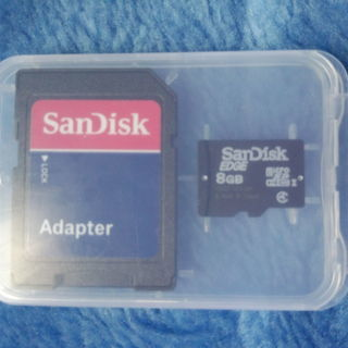 【未使用】microSDHC 8GB Class4