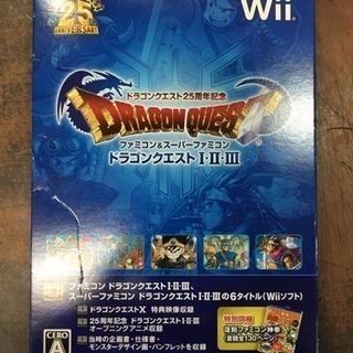 Wiiソフト ドラゴンクエスト25周年記念 ドラゴンクエストⅠ・Ⅱ・Ⅲ