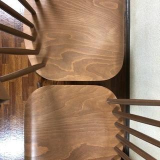 NOCE購入 曲木チェア2脚 木製椅子 − 北海道