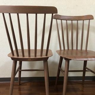 NOCE購入 曲木チェア2脚 木製椅子 - 家具