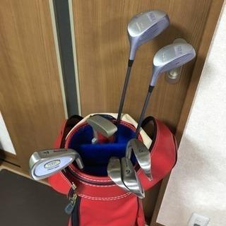 ゴルフクラブ レディース ハーフセット