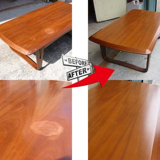 テーブル、椅子、ソファーなど家具のリフォーム承ります